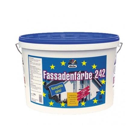 Farba akrylowa zewnętrzna Fassadenfarbe 242 10L